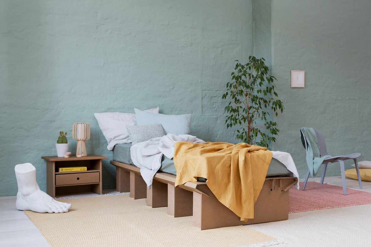 pappbett dream - das original von stange design
