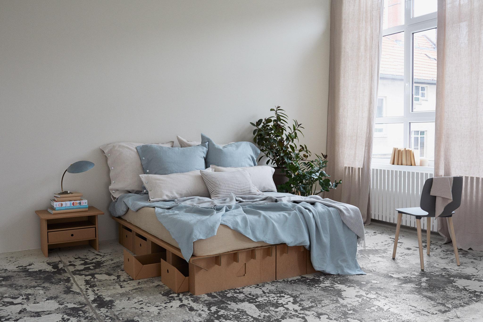Pappbett dream das original von stange design for Bett tumblr